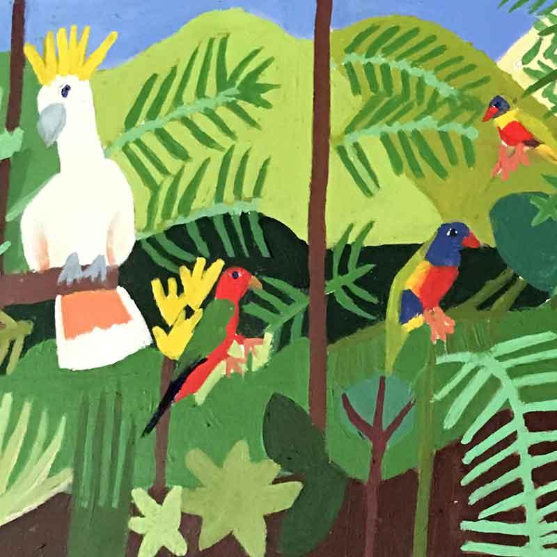 Zion Levy Stewart Rainforest Biopack Art Series Rainforest to Reef Rainforest Rescue Australia