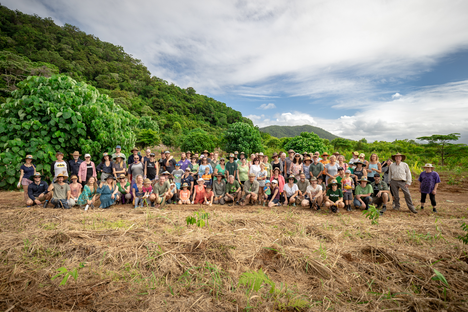 Tree Planting Crew 5.2019 - Photo by Martin Stringer Photography
