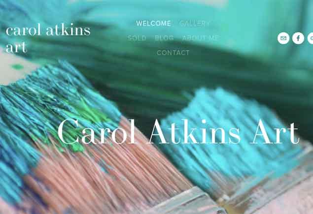 Carol Atkins Artist Rainforest Rescue Rainforest to Reef Project
