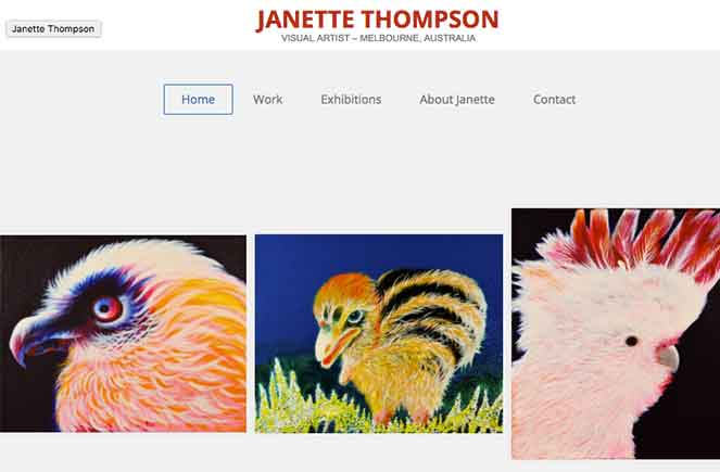 Janette Thompson Website Rainforest to Reef Project Rainforest Rescue Australia