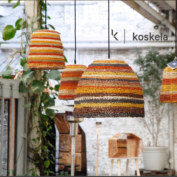 Koskela Homewares Handmade Australian Social Enterprise. Product partners Rainforest Rescue