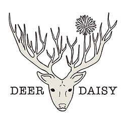 Deer Daisy Greeting Cards Product Partner Rainforest Rescue